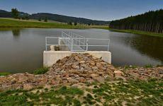 Projekt vodohospodářské stavby - stavba rybníka u Černé
