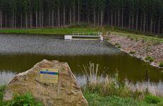 Projektování vodohospodářských staveb - Vysočina - rybník v Černé