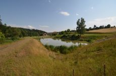 Projekce vodohospodářských staveb - Velké Meziříčí - Vysočina - rybník v Zálesné Zhoři