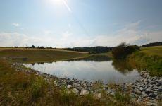 Projektování rybníků - Velké Meziříčí - rybník v Zálesné Zhoři