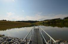 Projekční kancelář IMC Velké Meziříčí - projektování vodohospodářských staveb - stavba rybníka v Zálesné Zhoři